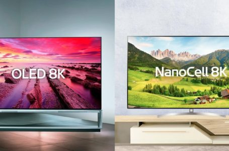 OLED vs Q-LED vs NanoCell 8K? Why you can easily park your entry level car at the sitting room.